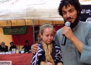 【閲覧注意】イスラム国で2万円で売られてる少女をご覧下さい。 → ガチ泣きしててキツイ。コレは胸糞。。(画像あり)
